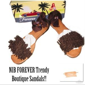 ‼️🔥NIB TRENDY FOREVER KAILYN Boho Sandals!🔥‼️